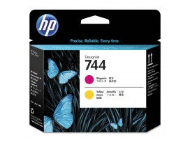 HP 744 Magenta & Yellow Printhead