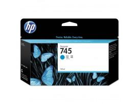 HP 745 130-ml Cyan Ink Cartridge