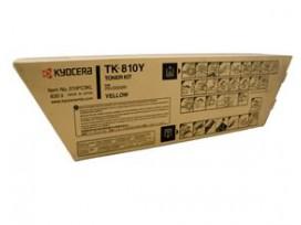 KYOCERA - Оригинална тонер касета TK-810Y