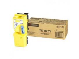 KYOCERA - Оригинална тонер касета TK-820Y