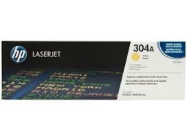 HP оригинална тонер касета CC532A/304A