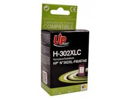 HP Съвместима мастилница 302XL Color, F6U67AE