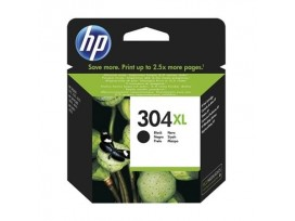 HP - Оригинална мастилница 304XL Black, N9K08AE