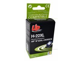 Мастилница UPRINT C9352CE, N22 XL, HP, Cyan/Magenta/Yellow