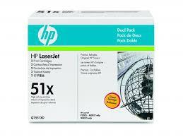HP - Оригинална тонер касета Q7551XD