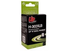 HP Съвместима мастилница 302XL Black, F6U68AE