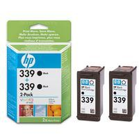 HP - Оригинална мастилница HP C9504EE/ 2 x №339