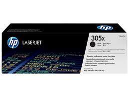 HP - Oригинална тонер касета  CE410X/305X