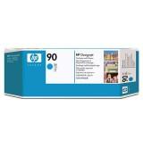 HP 90 Cyan Printhead and Printhead Cleaner