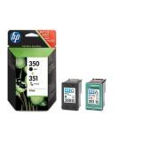 HP 350/351 Combo-pack Inkjet Print Cartridges