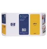 HP 80 175-ml Yellow Ink Cartridge