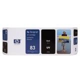 HP 83 680-ml Black UV Ink Cartridge