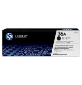 HP 36A Black LaserJet Toner Cartridge