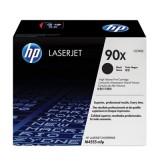 HP 90X Black Dual Pack LaserJet Toner Cartridges