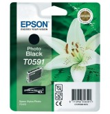 Epson T0591 Photo Black Ink Cartridge - Retail Pack (untagged) for Stylus Photo R2400/2400 + Nielsen Bundle