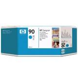 HP 90 400-ml Cyan Ink Cartridge