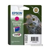 Epson T0793 Magenta Ink Cartridge - Retail Pack (untagged) for Stylus Photo 1400, Epson Stylus Photo P50