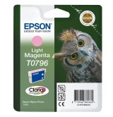 Epson T0796 Light Magenta Ink Cartridge - Retail Pack (untagged) for Stylus Photo 1400, Epson Stylus Photo P50
