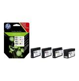 HP 950XL Black/951XL Cyan/Magenta/Yellow 4-pack Original Ink Cartridges
