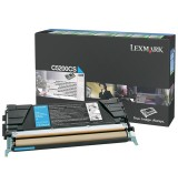 Lexmark C520, C530 Cyan Return Programme Toner Cartridge (1.5K)
