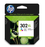 HP 302XL High Yield Tri-color Original Ink Cartridge