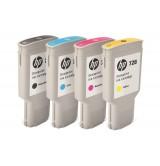 HP728 300-ml Yellow InkCart