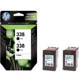 HP 338 2-pack Black Inkjet Print Cartridges