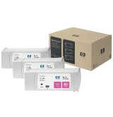 HP 83 3-pack 680-ml Magenta UV Cartridges