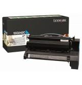 Lexmark C752, C762 Cyan High Yield Return Programme Print Cartridge (15K)