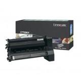 Lexmark C77X Black High Yield Return Programme Print Cartridge (10K)