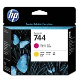 HP 744 Magenta & Yellow Printhead