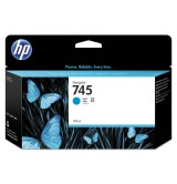 HP 745 130-ml Cyan Ink Cartridge