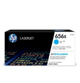 HP 656X High Yield Cyan Original LaserJet Toner Cartridge (CF461X)