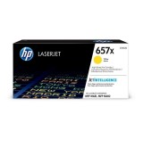 HP 657X High Yield Yellow Original LaserJet Toner Cartridge (CF472X)
