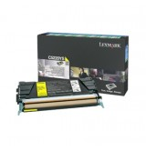 Lexmark C522, C524, C53x Yellow Return Programme Toner Cartridge (3K)