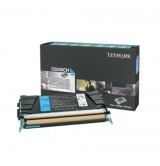 Lexmark C524, C532, C534 Cyan High Yield Return Programme Toner Cartridge (5K)
