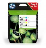 HP 903XL High Yield C/M/Y/K Original Ink Cartridge, 4-pack