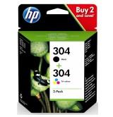 HP 304 Ink Cartridge Combo 2-Pack