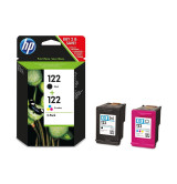 HP 122 2-pack Black/Tri-color Original Ink Cartridges
