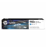 HP 982X High Yield Cyan Original PageWide Cartridge