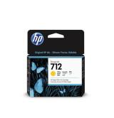 HP 712 29-ml Yellow Ink Cartridge