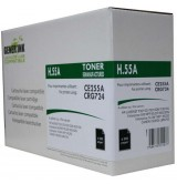 Тонер касета GENERINK CE255A, HP LJ P3015/ MFP M525 /Canon LBP 6750-CRG-724, 6000k, Black