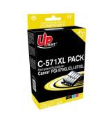 Мастилници UPRINT комплект CANON PGI-570 + CLI-571BK/C/M/Y XL