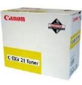 CANON - Оригинална касета за копирна машина C-EXV21Y
