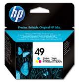 HP Оригинална мастилница 51649A/№49