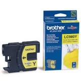Brother Оригинална  Касета за мастилоструйни устройства  LC980Y