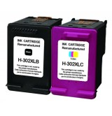 Мастилница UPRINT комплект HP 302XL BK+CL,F6U68AE+F6U67AE, DJ 1110 AiO/2130 AiO/3630 AiO/4650 AiO