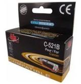 Съвместима мастилница Canon CLI521BK - с чип