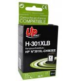 Мастилница UPRINT CH563EE HP, Черен