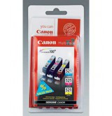 CANON - Оригинална мастилница  CLI-521 C/M/Y Multi Pack